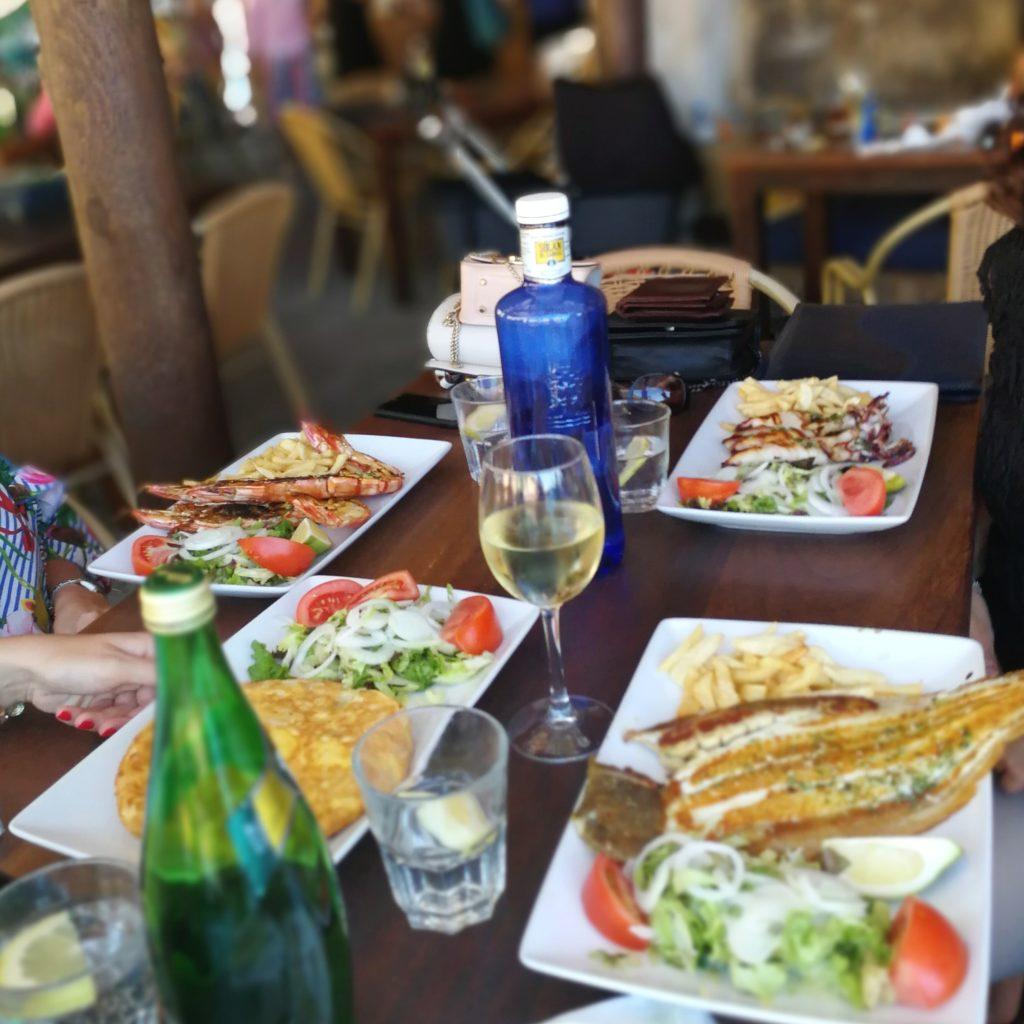 Fischrestaurant Mallorca