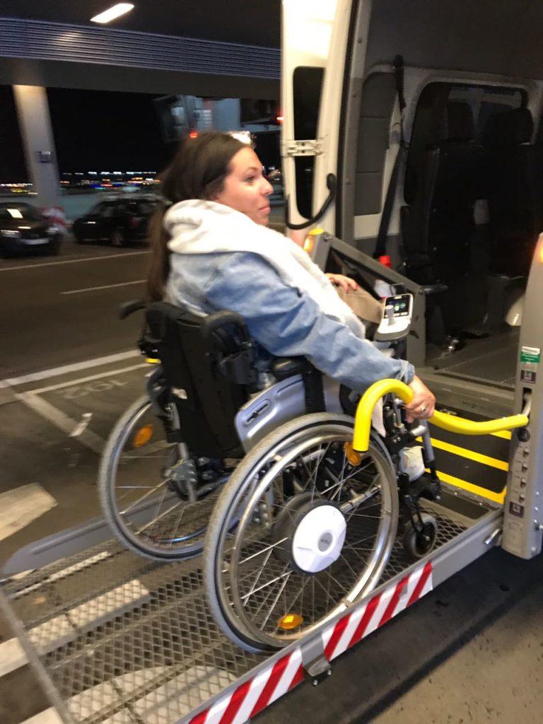 Madrid mit Rollstuhl