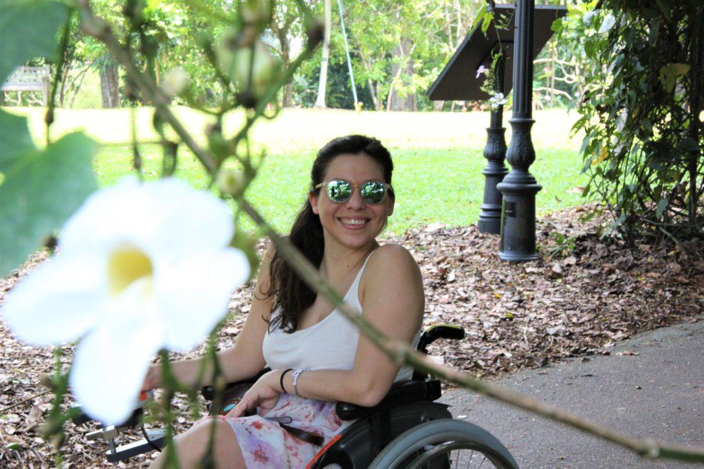 Singapur mit Rollstuhl entdecken