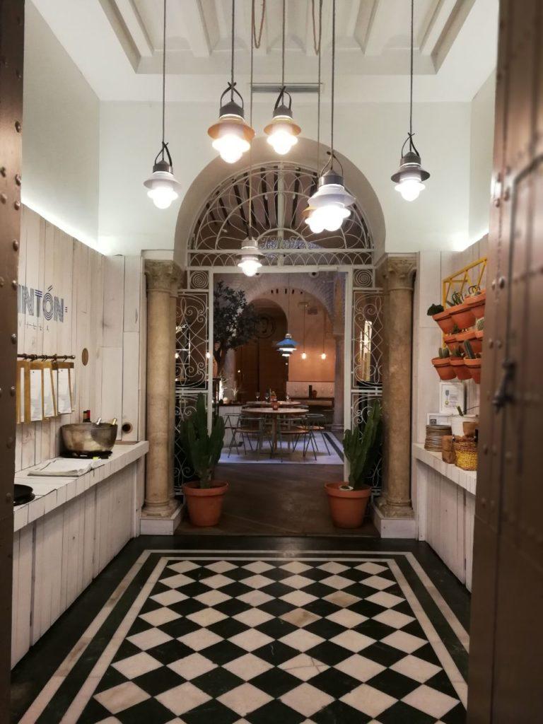 Eingang Restaurant