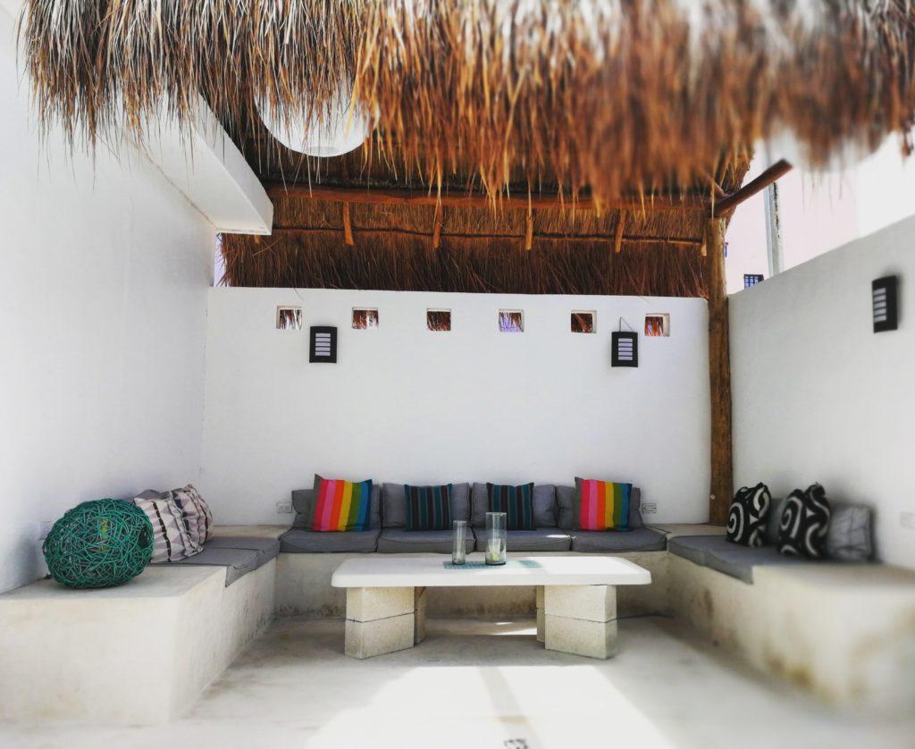 Strandhaus Mexiko