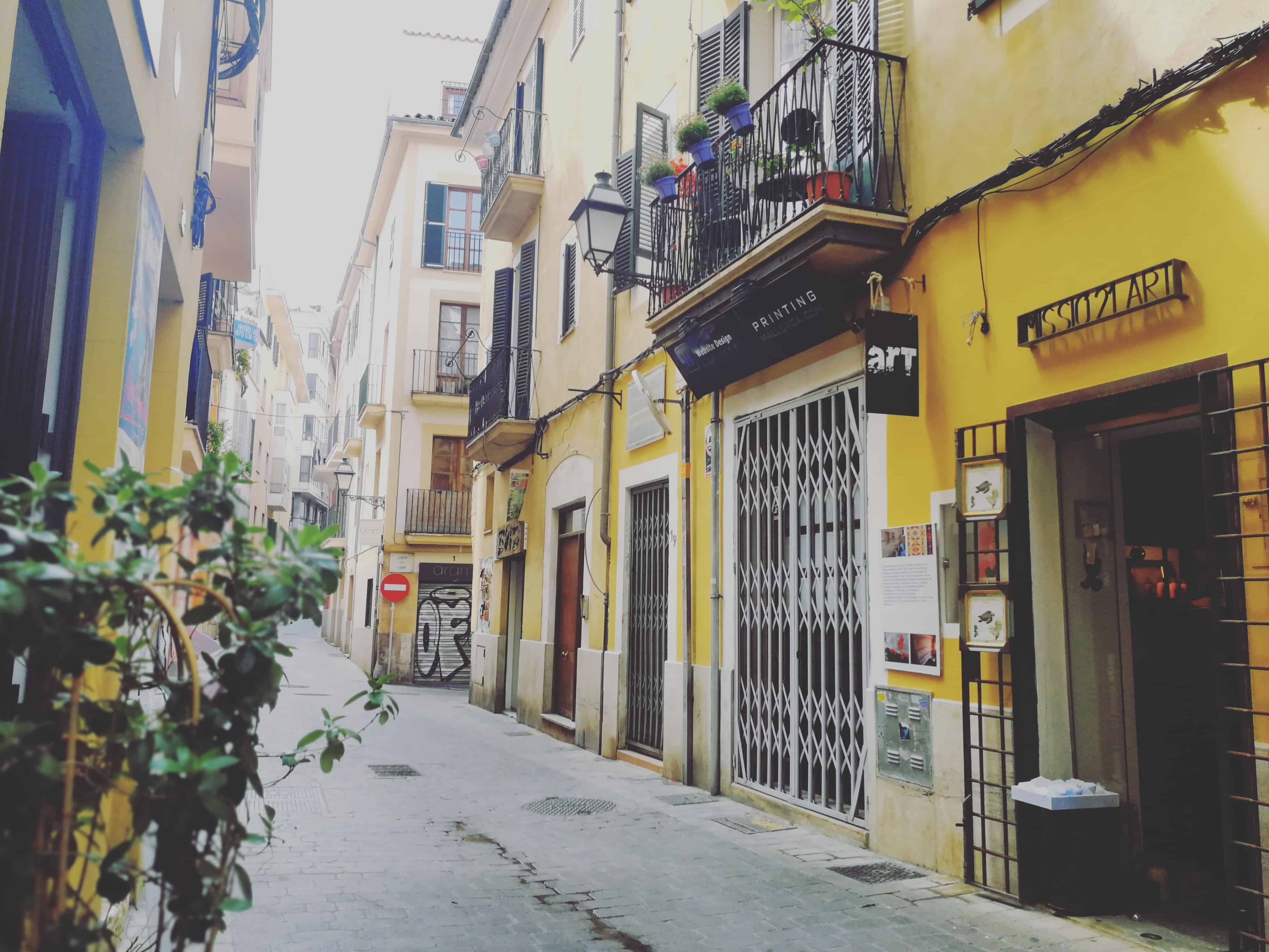 Palma & mein Lieblingsviertel Santa Catalina - Wheelie ...
