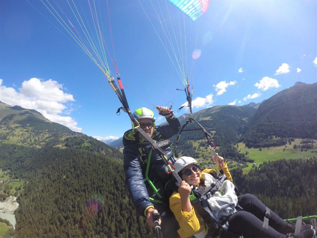Paragliding mit Rollstuhl