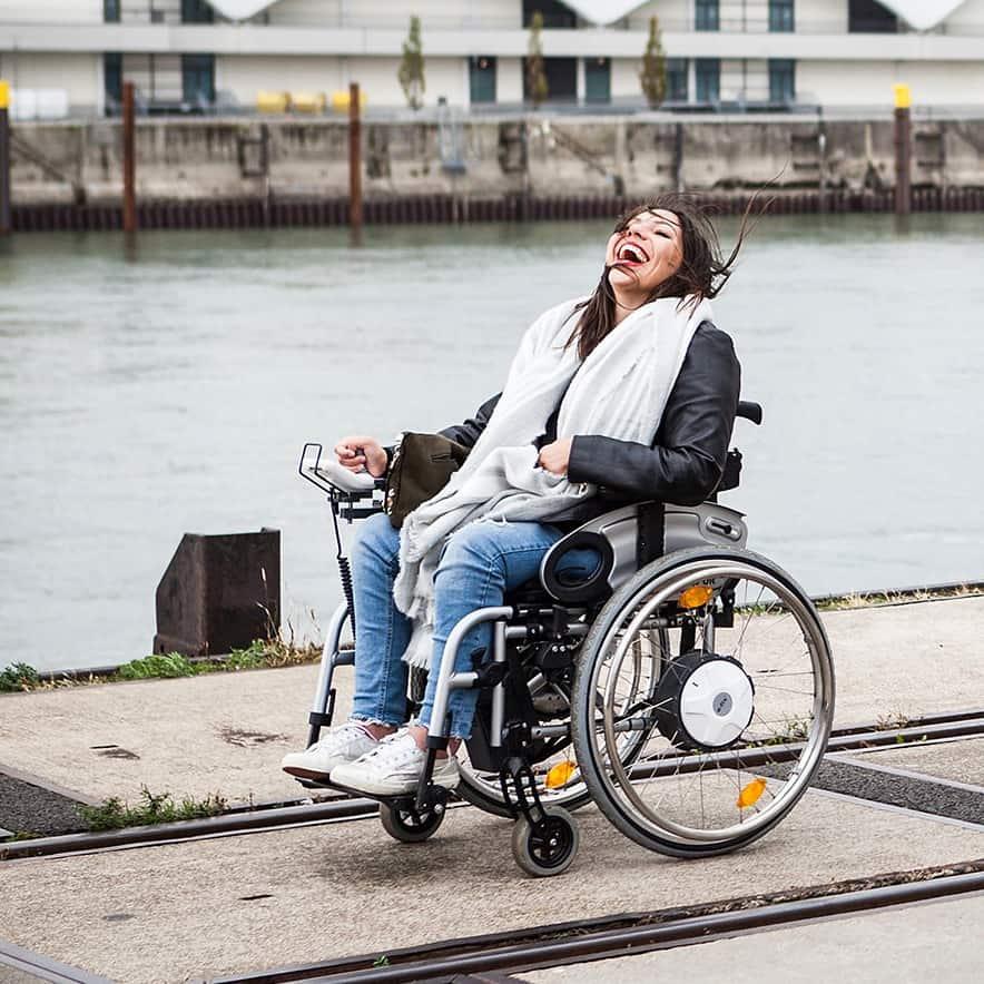 Lutzi mein Rollstuhl
