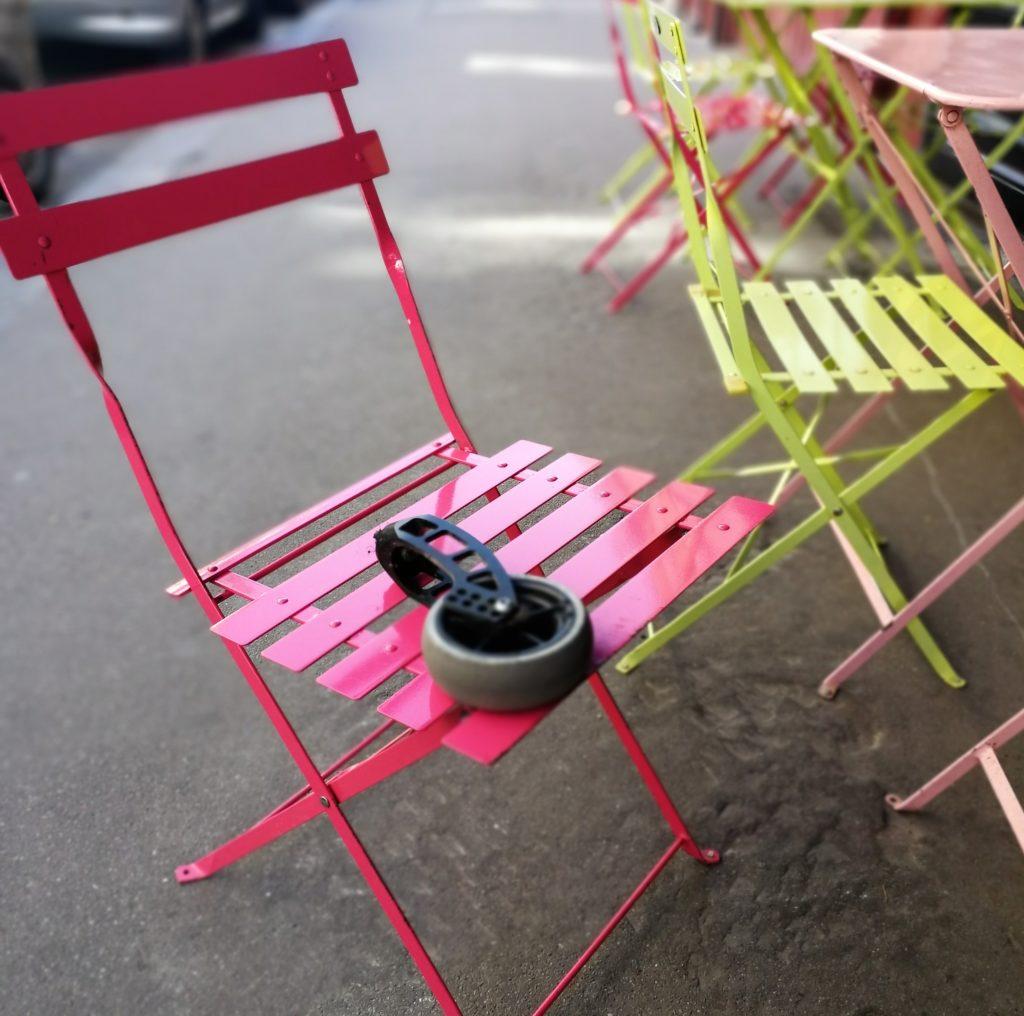 Paris mit Rollstuhl