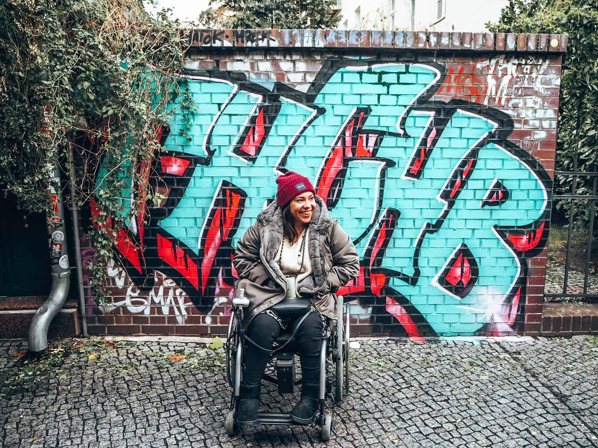 Berlin mit Rollstuhl