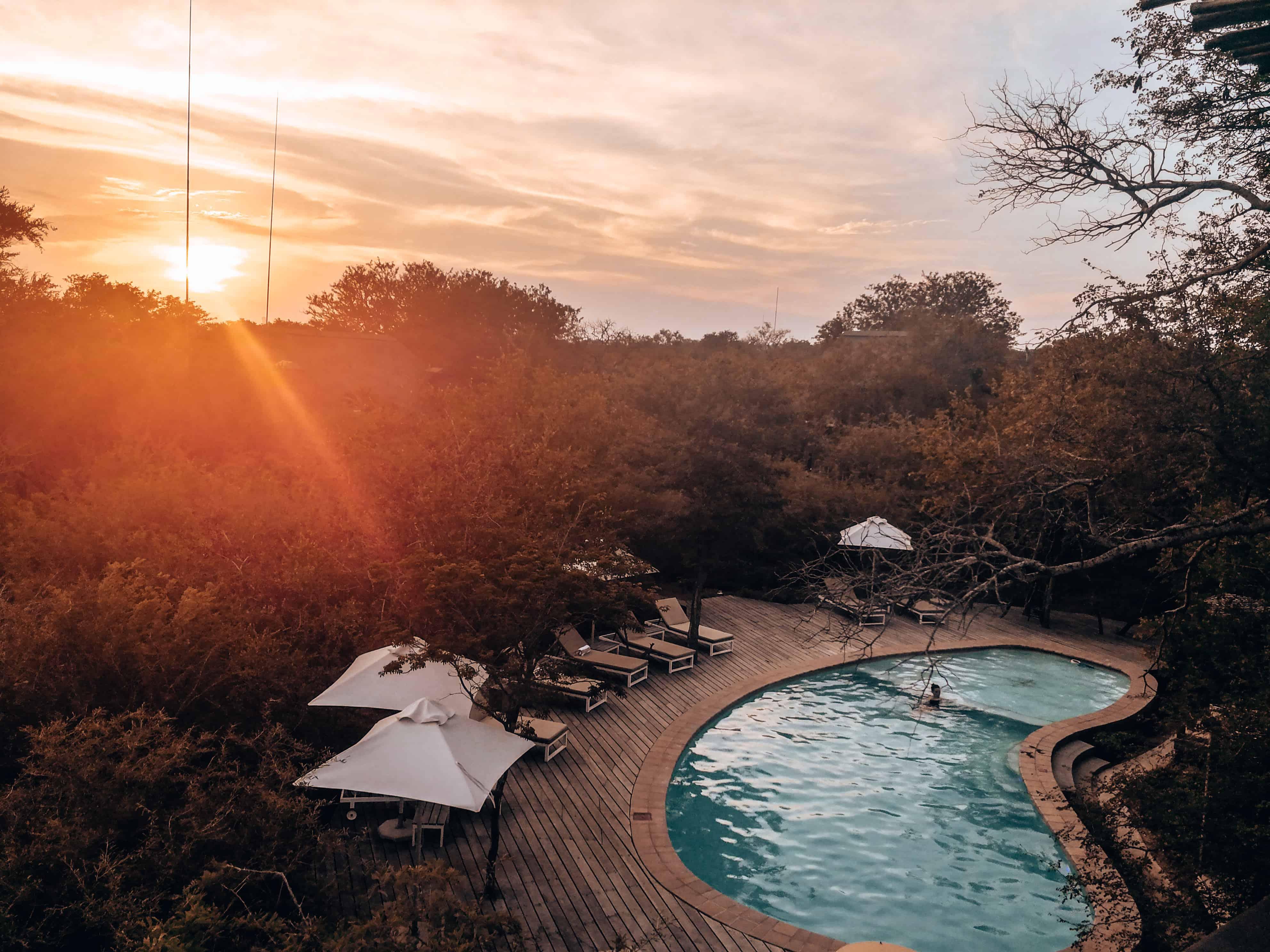 Sundowner Südafrika
