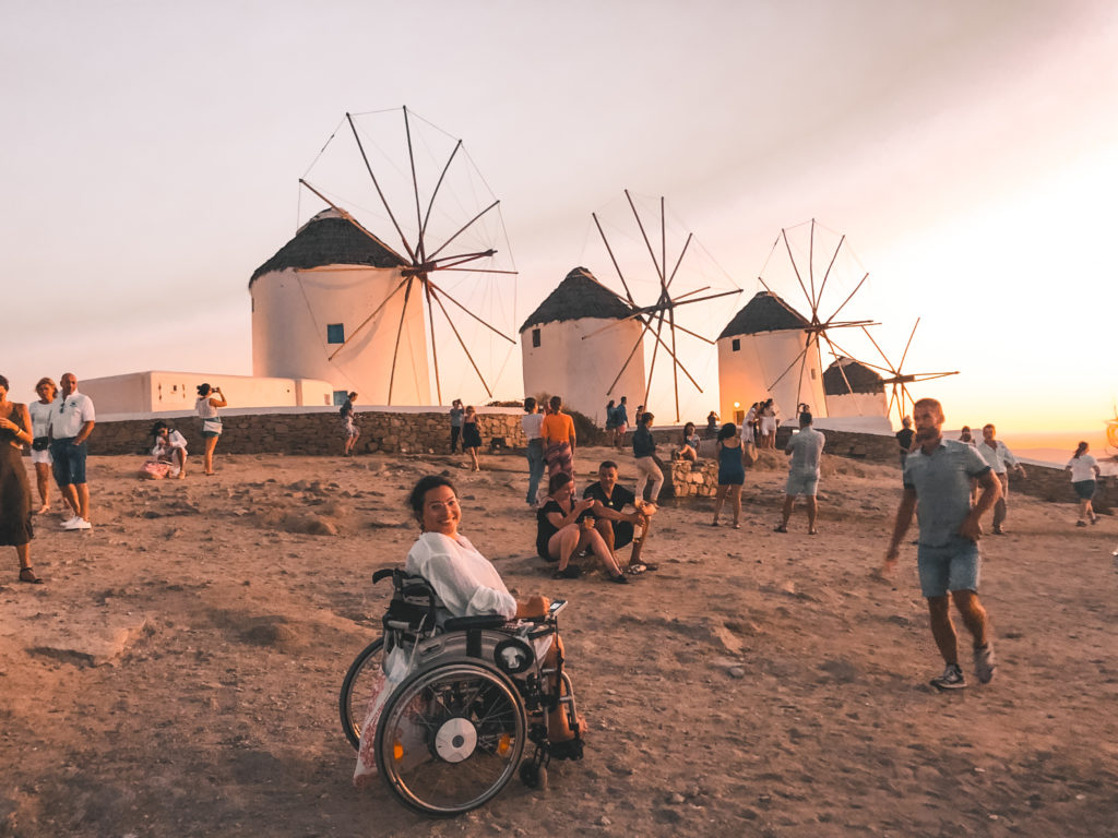 Windmühlen Mykonos