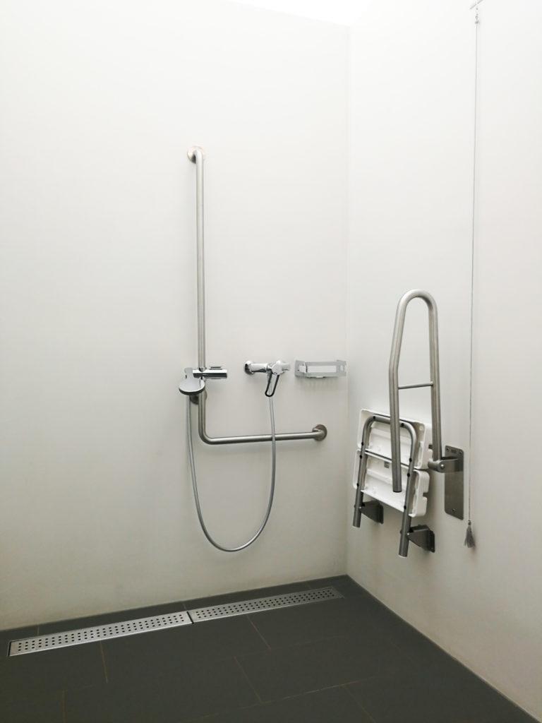 barrierefreie Dusche
