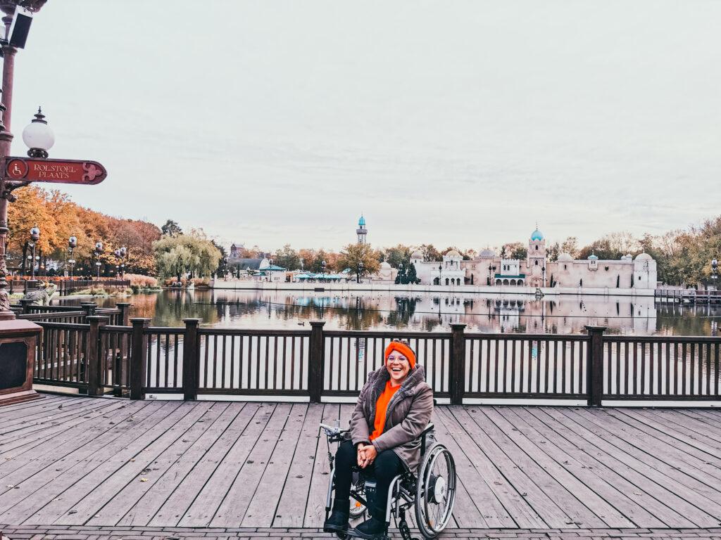 Mit Rollstuhl im Freizeitpark
