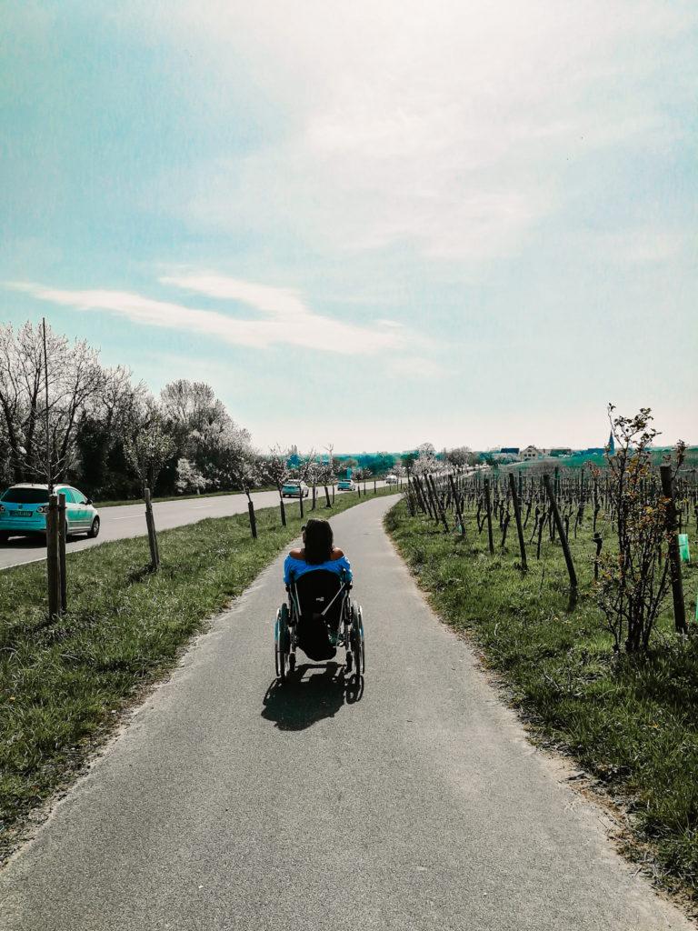 Wanderweg barrierefrei