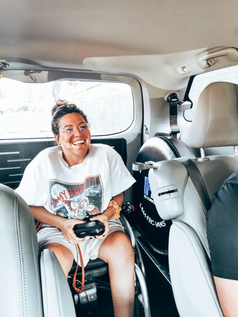 Rollstuhl Uber