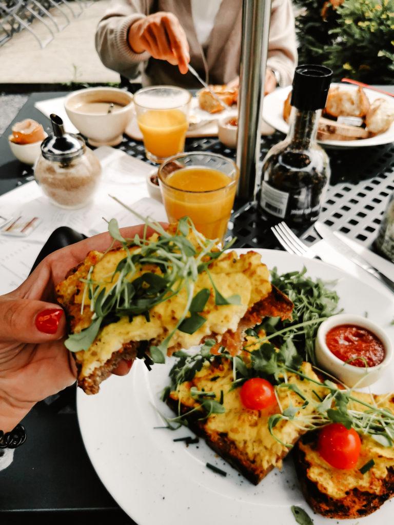 Tartines Frühstück
