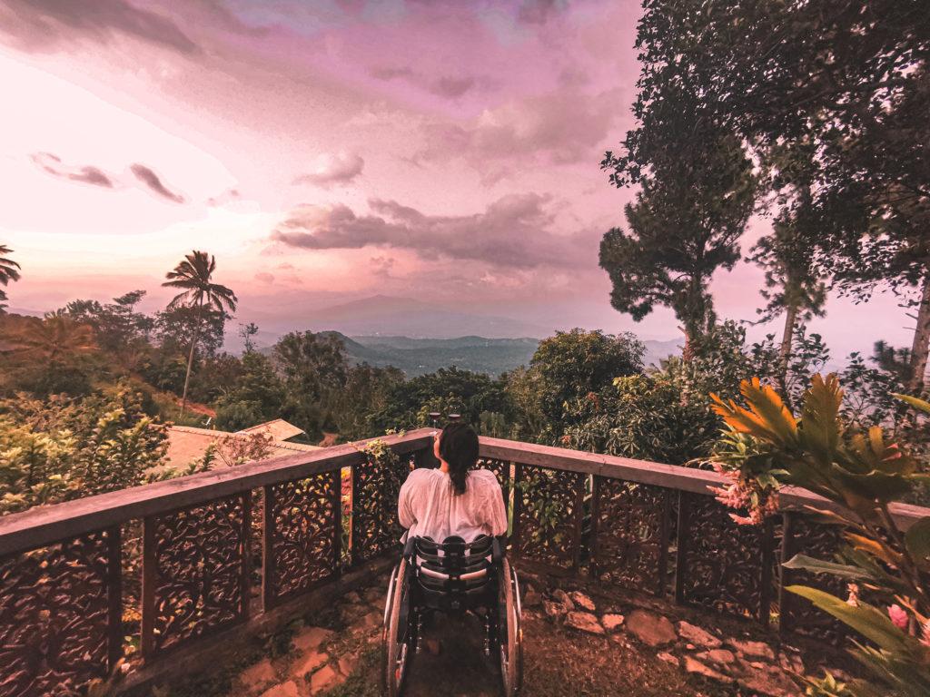 Blick auf Sri Lanka