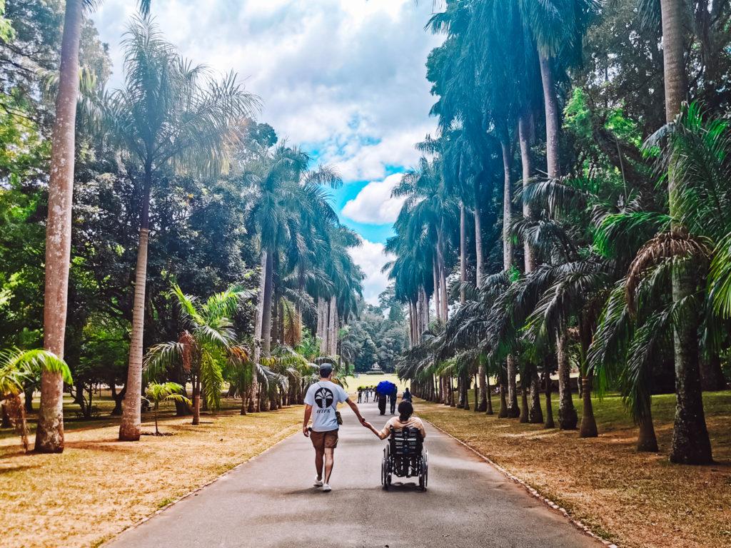 Sri Lanka mit Rollstuhl bereisen
