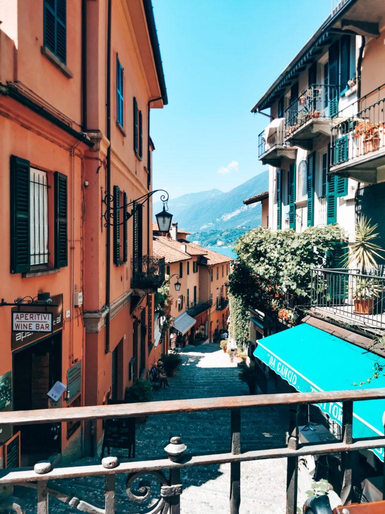 Gassen von Bellagio