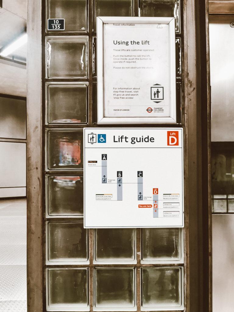 Lift Guide London