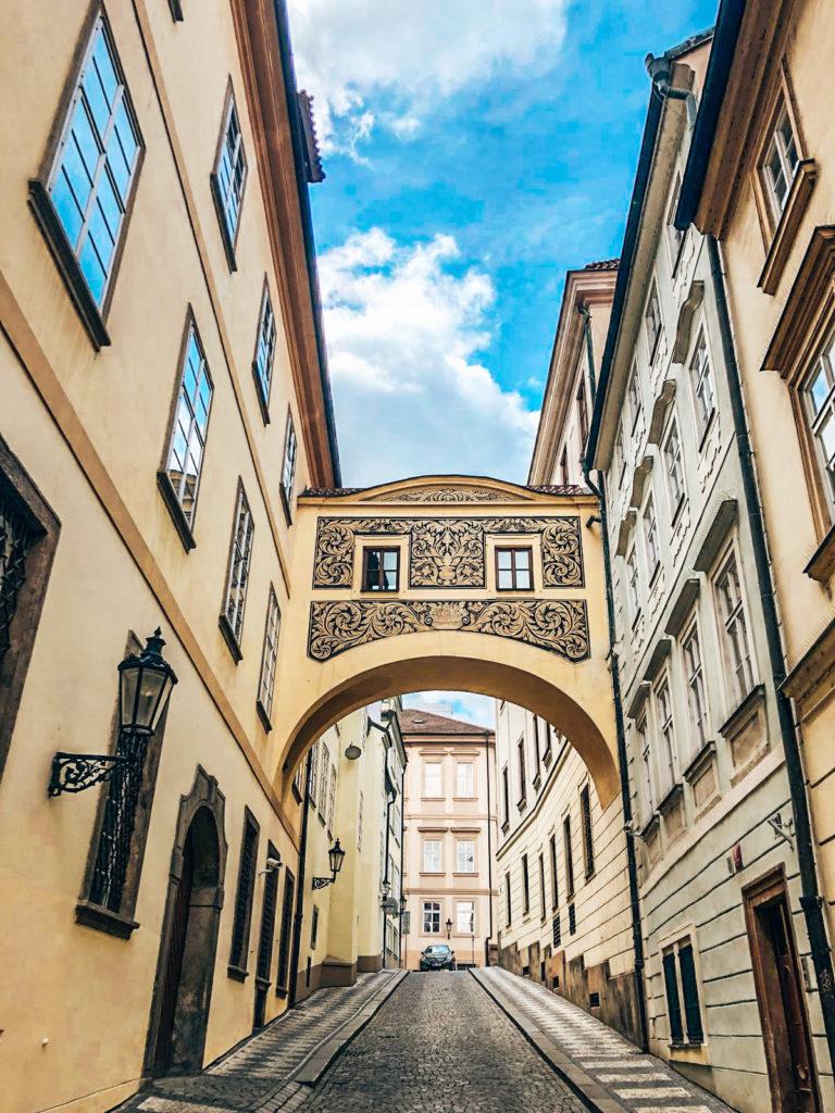 Straßen von Prag