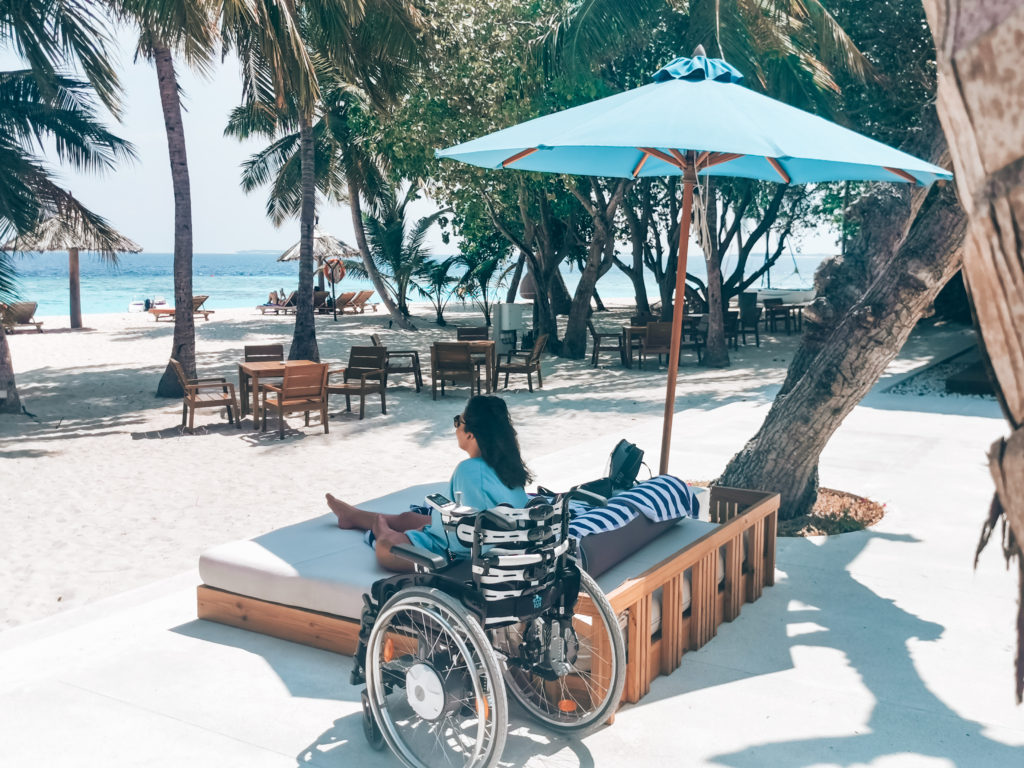 Malediven mit Rollstuhl