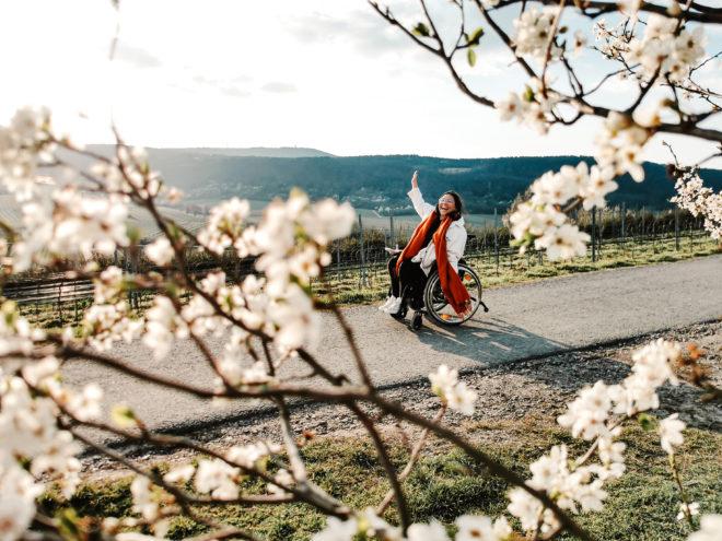 Pfalz mit Rollstuhl entdecken