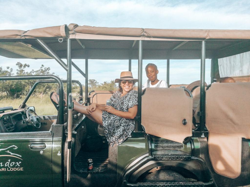 Safari mit Rollstuhl