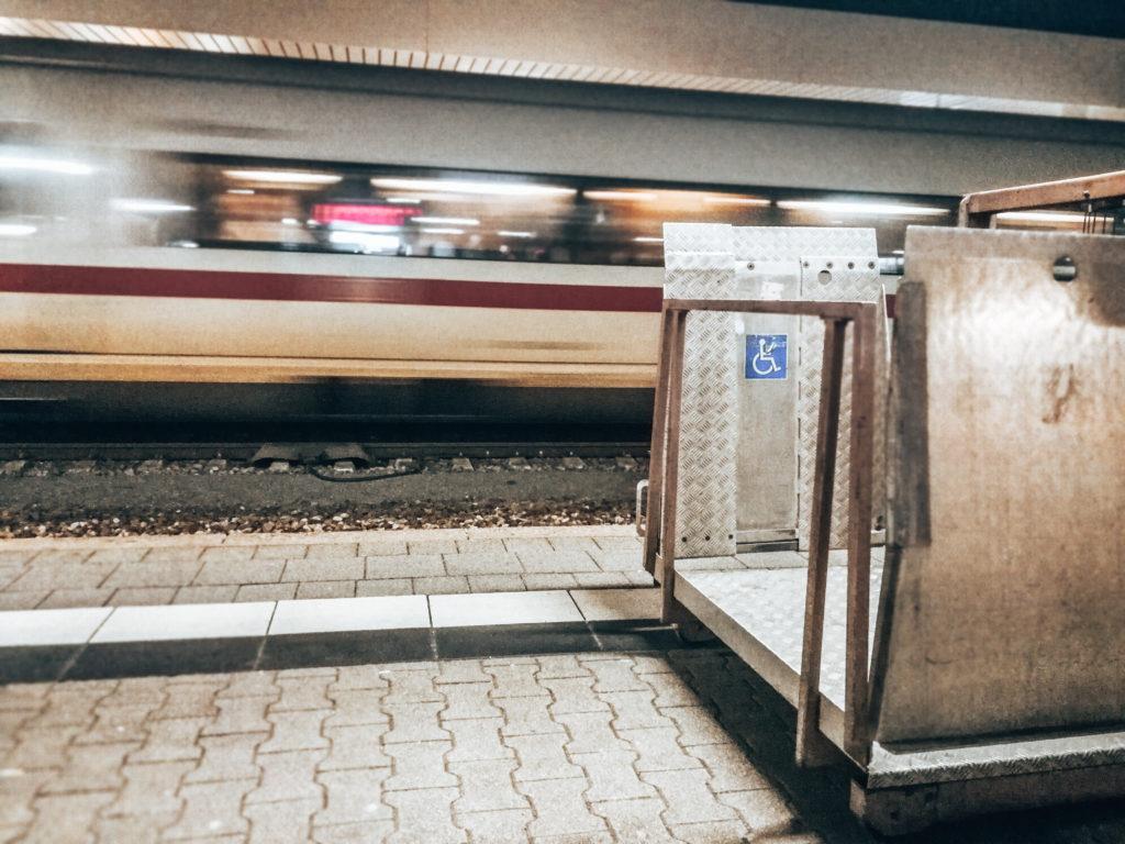 barriefrei Reisen mit der Bahn