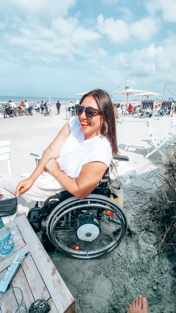 Norderney mit Rollstuhl