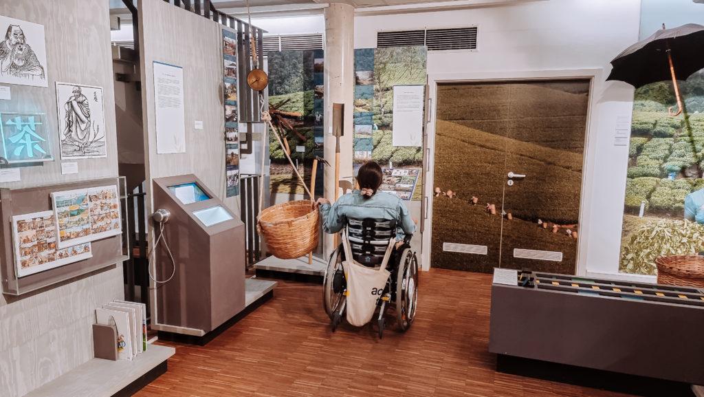 Ostfriesland mit Rollstuhl