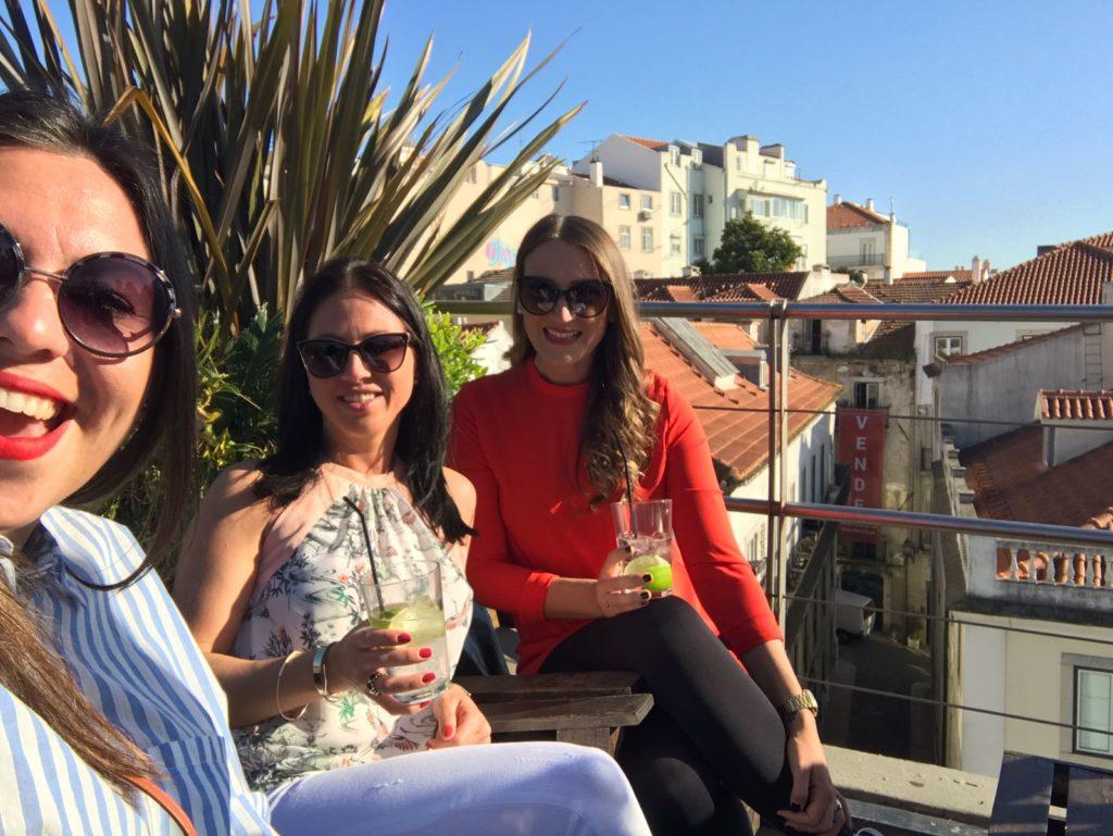 Dachterrasse Lissabon